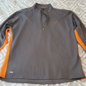 Nike dri-fit pull over jacket